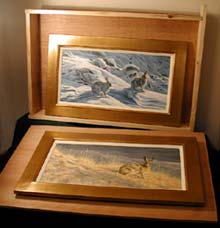 Wildlife Art Shipping Crate