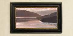 Framed Loch Sunart print for sale