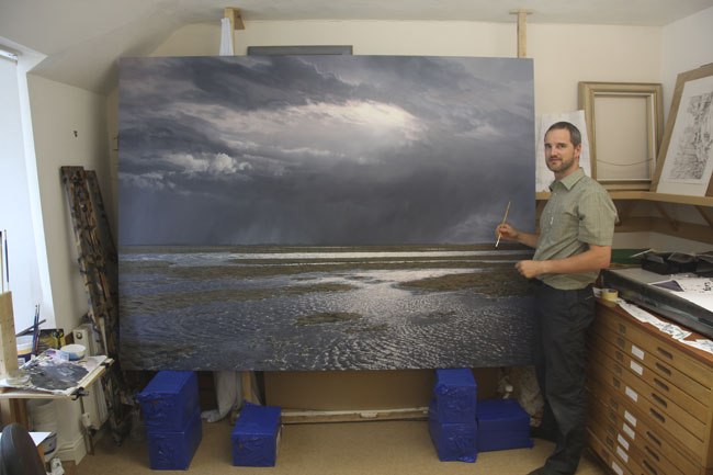 Solway Estuary - Commission an oil painting